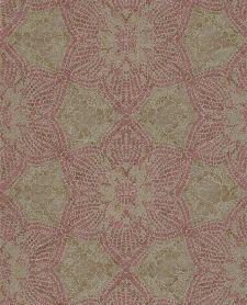 Bild: Eijffinger Vliestapete Siroc 376054 - indisches Blumenmuster (Rot)