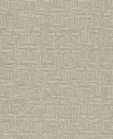 Bild: Eijffinger Vliestapete Siroc 376064 - Labyrinth Optik (Karamell)
