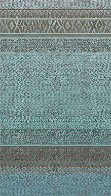 Bild: Eijffinger Tapeten Panel Siroc 376090 - Tapestry (Türkis)