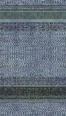Bild: Eijffinger Tapeten Panel Siroc 376092 - Tapestry Shibori (Blau)
