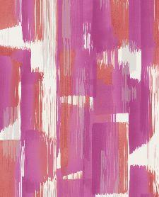 Bild: Eijffinger Vliestapete Stripes+ 377003 - breite Pinselstriche (Pink)