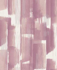 Bild: Eijffinger Vliestapete Stripes+ 377004 - breite Pinselstriche (Rosa)
