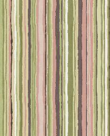 Bild: Eijffinger Vliestapete Stripes+ 377015 - dünne Pinselstriche (Bunt/Rosa)