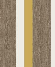 Bild: Eijffinger Streifentapete Stripes+ 377032 - Grasoptik (Ocker)