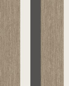 Bild: Eijffinger Streifentapete Stripes+ 377033 - Grasoptik (Schwarz)