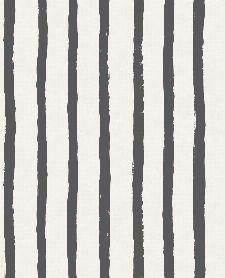 Bild: Eijffinger Tapete Stripes+ 377075 - Pastellstreifen (Schwarz)