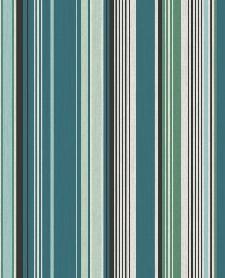 Bild: Eijffinger Tapete Stripes+ 377112 - strukturierte Streifen (Grün)
