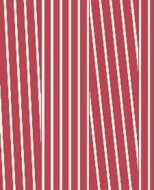 Bild: Eijffinger Streifentapete Stripes+ 377121 (Rot/Weiß)