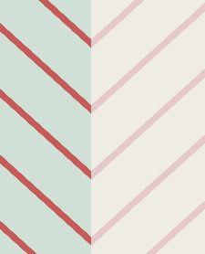 Bild: Eijffinger edle Vliestapete Stripes+ 377140 - Zickzack Muster (Grün)