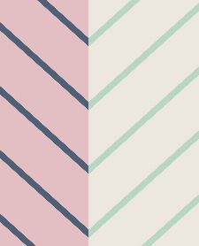 Bild: Eijffinger edle Vliestapete Stripes+ 377141 - Zickzack Muster (Rosa)