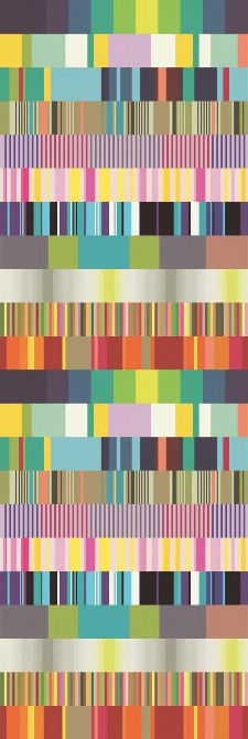 Bild: Eijffinger Tapeten Panel  Stripes+ 377200 ULTI MULTI (Bunt)