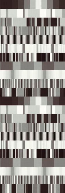 Bild: Eijffinger Tapeten Panel  Stripes+ 377201 ULTI MULTI (Schwarz/Weiß)