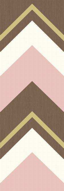 Bild: Eijffinger Tapeten Panel  Stripes+ 377202 CRISSCROSS (Rosa)