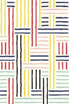Bild: Eijffinger Tapeten Panel  Stripes+ 377204 BRETON PATCH