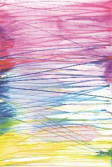 Bild: Eijffinger Tapeten Panel  Stripes+ 377209 AQUALINES (Bunt/Pink)