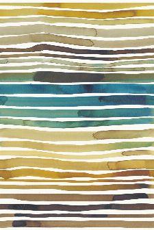 Bild: Eijffinger Tapeten Panel  Stripes+ 377215 AQUASTRIPE (Ocker)
