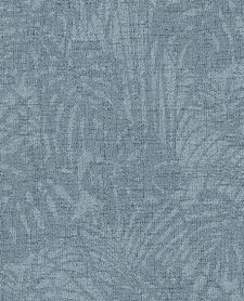 Bild: Eijffinger Reflect Vliestapete 378017 - Farnwiese (Blau)