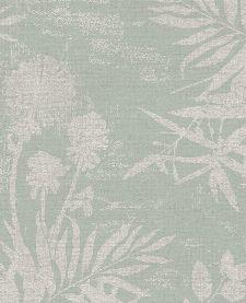 Bild: Eijffinger Vliestapete Lino 379032 - Farnwiese (Pastellgrün)