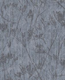 Bild: Eijffinger Vliestapete Lino 379052 - Blumen Silhouette (Taubenblau)