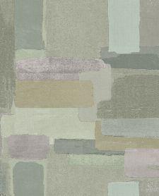 Bild: Eijffinger Vliestapete Lino 379062 - abstrakte Mauer (Grün)