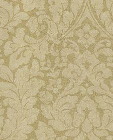 Bild: Eijffinger Vliestapete Stature 382541 - Barock Pflanzenmuster (Gold)