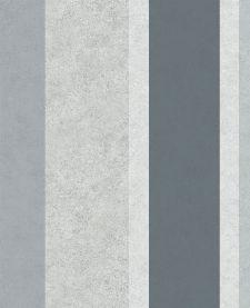 Bild: Eijffinger Streifen Tapete Stature 382552 (Blau)
