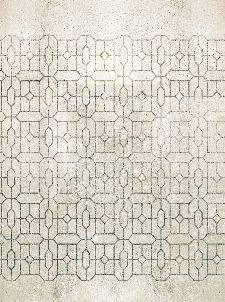 Bild: Eijffinger Fototapete Stature 382602 - Trellis Celadon (Sand)