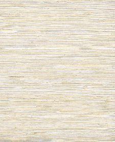 Bild: Eijffinger Tapete Natural Wallcoverings ll 389520 - Grasgewebe (Creme/Silber)
