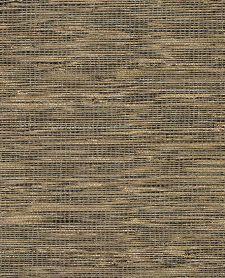 Bild: Eijffinger Tapete Natural Wallcoverings ll 389529 - Grasgewebe (Gold/Schwarz)