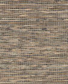 Bild: Eijffinger Tapete Natural Wallcoverings ll 389562 - Grasgewebe (Schwarz)