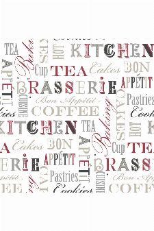 Bild: Fresh Kitchen 5 - Küchentapete FK34413 (Rot)