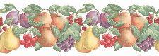 Bild: Fresh Kitchen 5 - Küchenbordüre FK78451DC (Dunkelgrün)