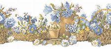 Bild: Fresh Kitchen 5 - Küchenbordüre FK78465DC (Blau)
