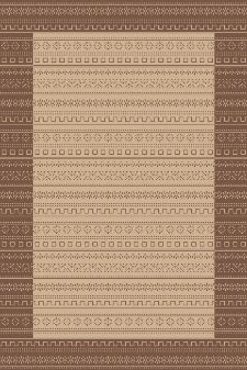 Bild: Teppich Country 5374 (Braun; 80 x 150 cm)