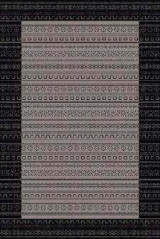 Bild: Teppich Country 5374 (Anthrazit; 120 x 170 cm)