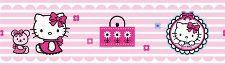 Bild: Kinder Tapete Hello Kitty 42260 (Rosa)