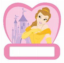 Bild: Kinder Wandsticker Prinzessin 48312 (Rosa)