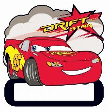 Bild: Kinder Wandsticker Cars 48363 (Bunt)