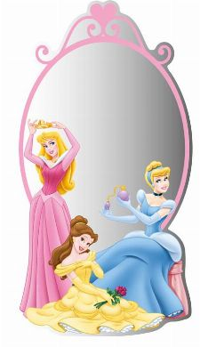 Bild: Kinder Wandsticker Prinzessin 55211 (Bunt)