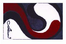 Bild: Badteppich COLANI 7B (Weiß; 80 x 150 cm)