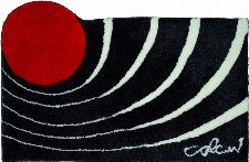 Bild: Badteppich COLANI 2 (Anthrazit; 60 x 60 cm)
