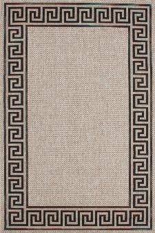Bild: Flachgewebe Teppich Malmö (Silber; 200 x 290 cm)