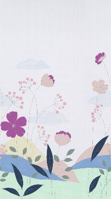 Bild: Kunterbunt - Bordüre Blume 45911
