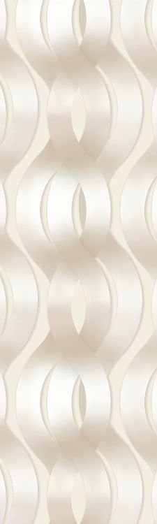 Bild: Colani Legend Digitaldruck Panel - Helix (Vanille)