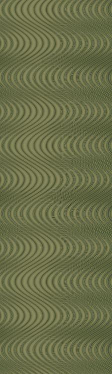 Bild: Colani Legend Digitaldruck Panel - Wellen (Eidechsengrün)