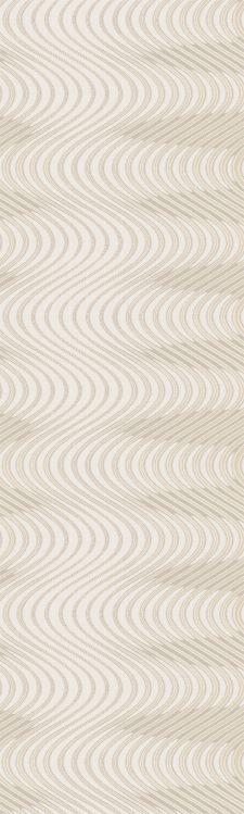 Bild: Colani Legend Digitaldruck Panel - Wellen (Vanille)