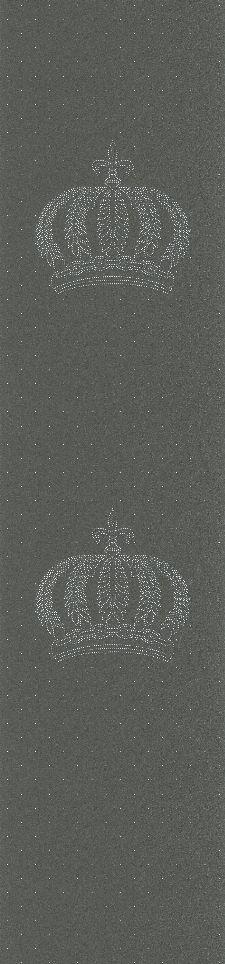 Bild: Glööckler Imperial 52709 - Strass Kronen Panel (Grau)