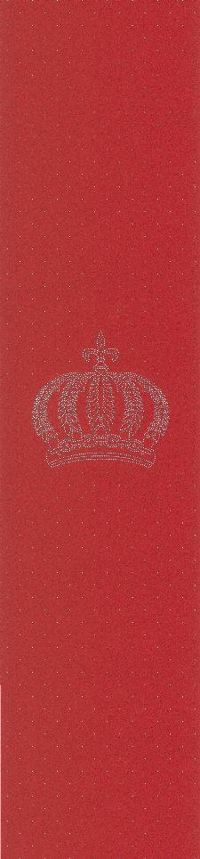 Bild: Glööckler Imperial 52717 - Panel: Strass Krone (Rot)
