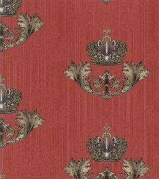 Bild: Glööckler Imperial 54856 - Damastornament (Kardinalrot)