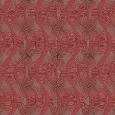 Bild: Colani Legend Tapete - Helix Spirale mit Carbonprägung (Burgunderrot)